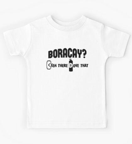 Boracay Scuba Diving Kids Tee