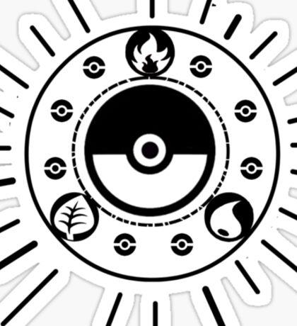 Pokemon Begins Sticker
