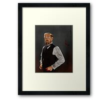 Professor James Moriarty Framed Print