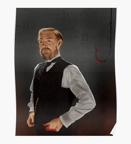 Professor James Moriarty Poster