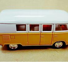 VW Bus by Valeria Lee