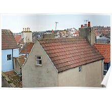 Cottage roof Poster