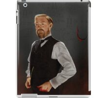 Professor James Moriarty iPad Case/Skin