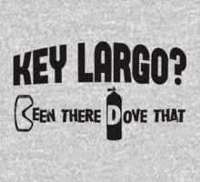 Key Largo Scuba Diving Baby Tee