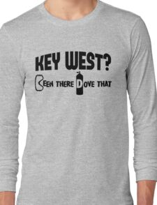 Key West Scuba Diving Long Sleeve T-Shirt