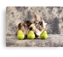 Pear Hare Canvas Print