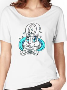 Cute Bunny - Snow Bunny Women's Relaxed Fit T-Shirt
