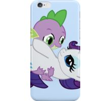 Spike and Rarity iPhone Case/Skin