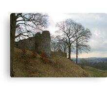 Ruins of Kendal Castle Canvas Print