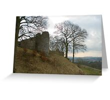 Ruins of Kendal Castle Greeting Card