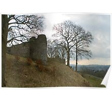 Ruins of Kendal Castle Poster