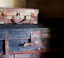 Vintage Suitcases by dilyst