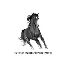 Everything Happens So Much - Horse Ebooks  by jearing