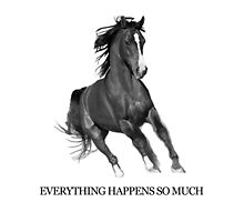 Everything Happens So Much by jearing