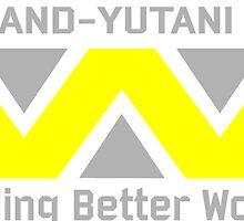 Aliens - Weyland-Yutani by wallyhawk