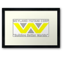 Aliens - Weyland-Yutani Framed Print