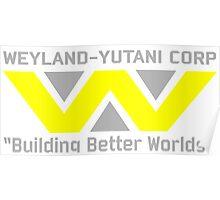 Aliens - Weyland-Yutani Poster
