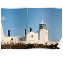 Lizard Lighthouse on Lizard Point Poster