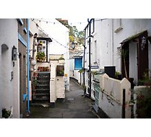 Polperro fishing village, Cornwall Photographic Print