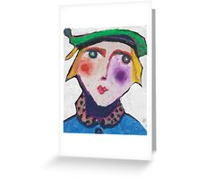 Anders was a pageboy Greeting Card