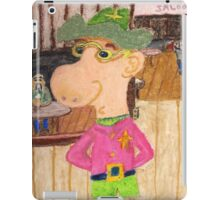 The Too Cool Sheriff Of pinkyjain Town iPad Case/Skin