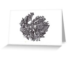 Holy Spirit in the Center Greeting Card