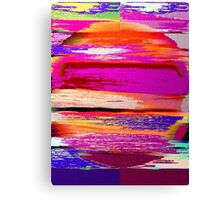Color Burst Abstract Canvas Print