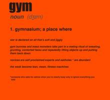GYM Definition by BenLindsayTs