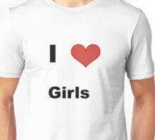 Heart Girls Unisex T-Shirt