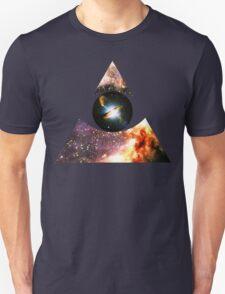 Messier 17, Eye of Centaurus A [Triangle] | Third Eye Unisex T-Shirt