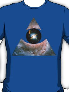 Pinwheel Galaxy, Eye of Centaurus A [Triangle]   Third Eye T-Shirt