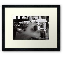 Mad Scientist Kitchen Framed Print