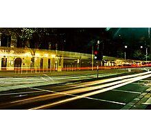 City Streaks Photographic Print