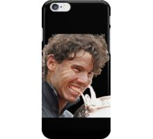 Rafa biting Cup iPhone Case/Skin