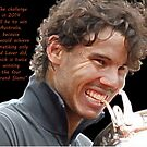 Rafa biting Cup by Dulcina