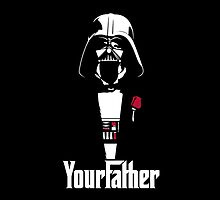 Star Wars - Darth Vader - The Godfather by SpinClothes