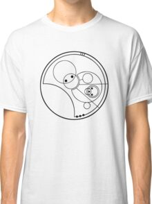 """""""Allons-y!"""" Translated into Gallifreyan Classic T-Shirt"""