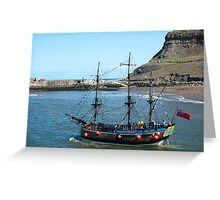 Endeavour replica Greeting Card