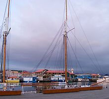 boat masts by photoeverywhere