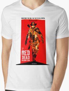red dead redemption  Mens V-Neck T-Shirt