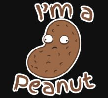 I'm a peanut with crazy eyes little crazy nut One Piece - Short Sleeve