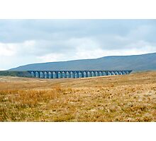 Landscape view of Ribblehead viaduct Photographic Print