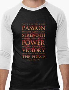 Sith Motto  Men's Baseball ¾ T-Shirt