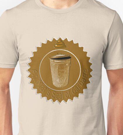 AniMat's Seal of Garbage Unisex T-Shirt