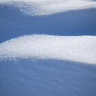 Snow dunes by Laurie Minor