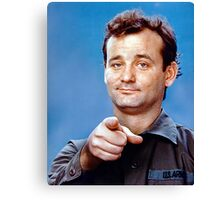 Bill Murray Canvas Print