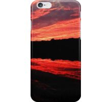 Extreme Sunset and Reflection iPhone Case/Skin