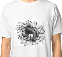 Ink sunflower Classic T-Shirt