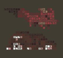 FEZ Rosetta Stone Tiles by universalfreak