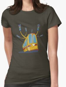 horned trams Womens Fitted T-Shirt